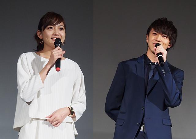 2/18公開『一週間フレンズ。』舞台挨拶に川口春奈、松尾太陽が登場!