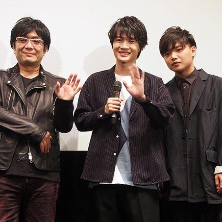 『3月のライオン』舞台挨拶に大友啓史監督、神木隆之介、ぼくのりりっくのぼうよみが登場!