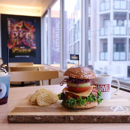 『アベンジャーズ/インフィニティ・ウォー』の公開を記念して九州初!「マーベル・カフェ」が期間限定オープン!