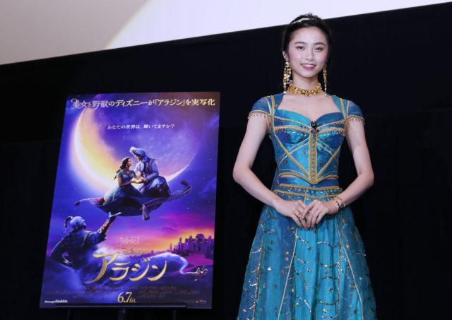 6/7(金)公開 映画「アラジン」ジャスミン役の木下晴香が熱唱!